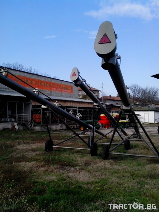 Обработка на зърно Шнеков зърнотоварач 3 - Трактор БГ