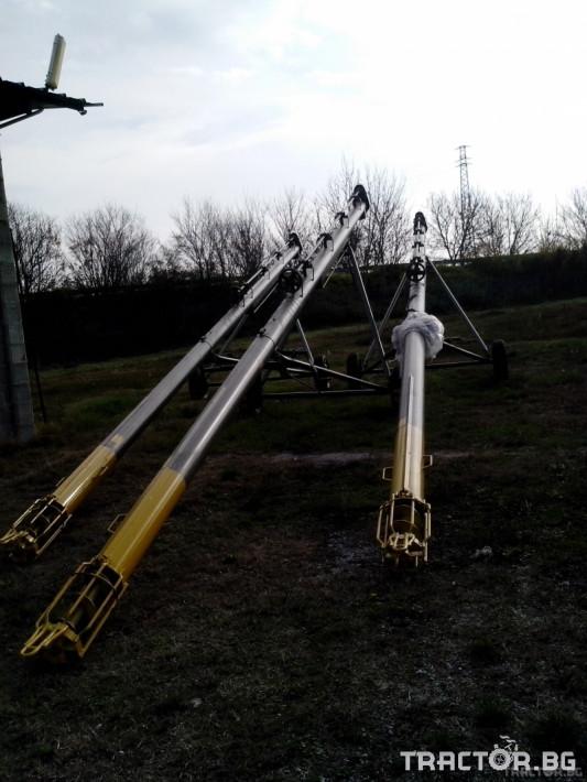 Обработка на зърно Шнеков зърнотоварач 4 - Трактор БГ