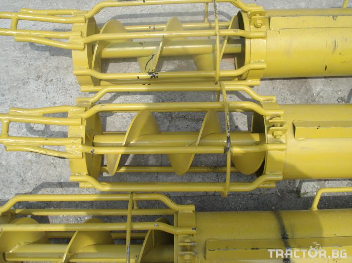 Обработка на зърно Шнеков зърнотоварач 7 - Трактор БГ