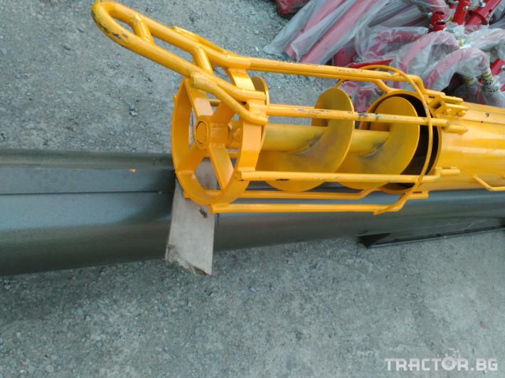 Обработка на зърно Шнеков зърнотоварач 8 - Трактор БГ