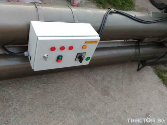 Обработка на зърно Шнеков зърнотоварач 9 - Трактор БГ