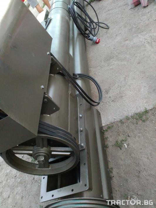 Обработка на зърно Шнеков зърнотоварач 11 - Трактор БГ