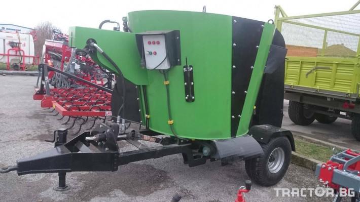 Машини за ферми BZC 4 - Трактор БГ